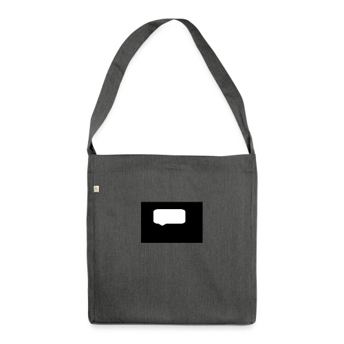 Speech bubblr - Shoulder Bag made from recycled material