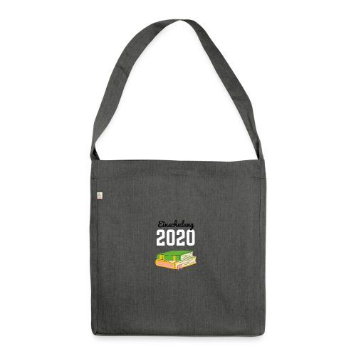Einschulung 2020 - Schultertasche aus Recycling-Material