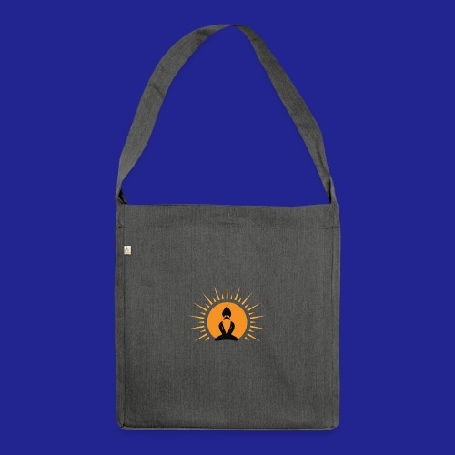 Guramylife logo black - Shoulder Bag made from recycled material