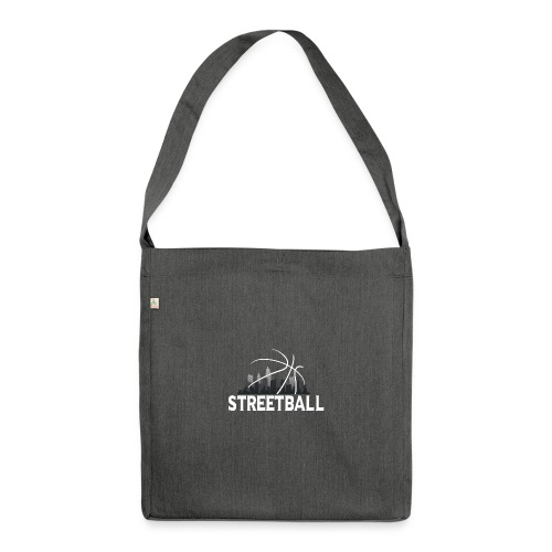 Streetball Skyline - Street basketball - Shoulder Bag made from recycled material