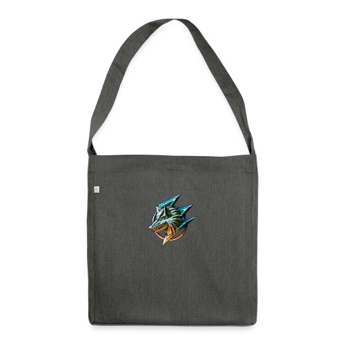 AZ GAMING WOLF - Shoulder Bag made from recycled material