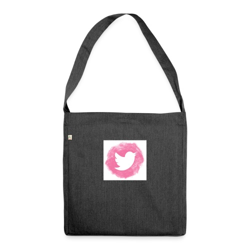 pink twitt - Shoulder Bag made from recycled material