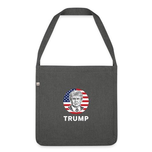 Donald trump - Schultertasche aus Recycling-Material