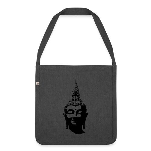 Boeddha hoofd - Schoudertas van gerecycled materiaal