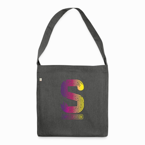 Simple creation - Shoulder Bag made from recycled material