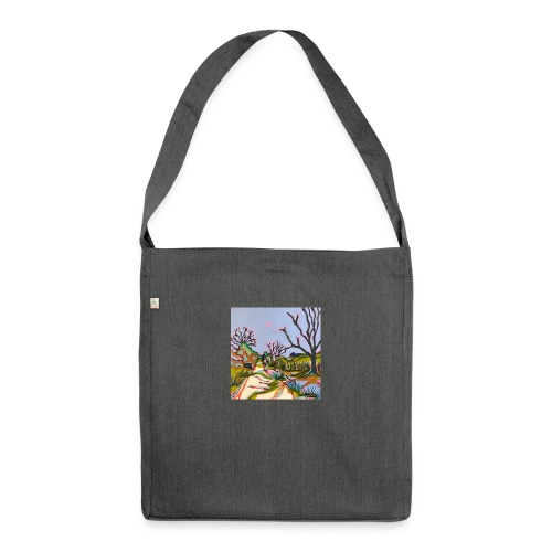 Thurlton Marsh Track - Shoulder Bag made from recycled material
