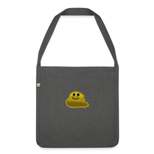EinfachMC-Logo - Schultertasche aus Recycling-Material