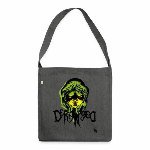 DerangeD - Tattoo Metal Horror Vampire - Skuldertaske af recycling-material