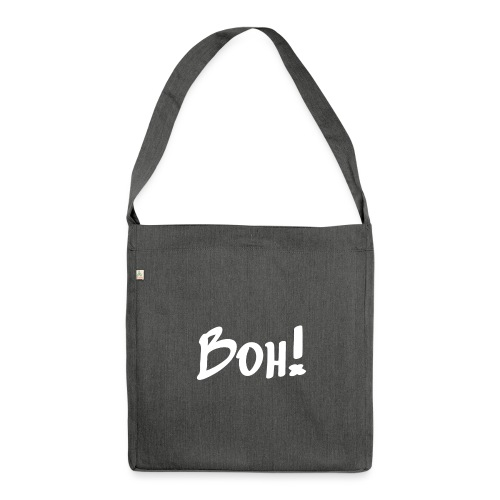 boh_white - Shoulder Bag made from recycled material
