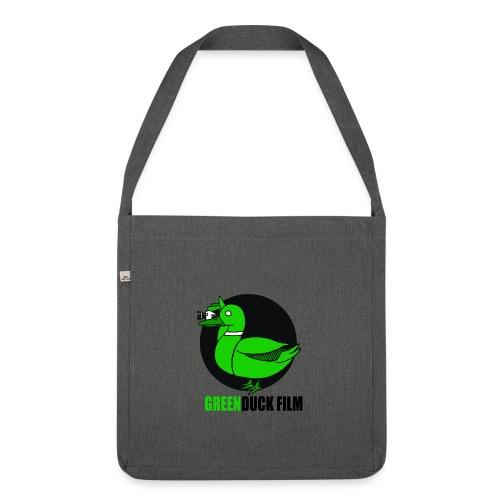 Greenduck Film Logo w. black letters - Skuldertaske af recycling-material