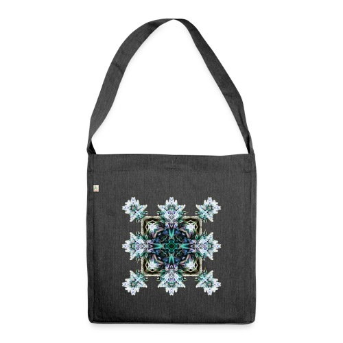 Psychedelic Flake - Schultertasche aus Recycling-Material