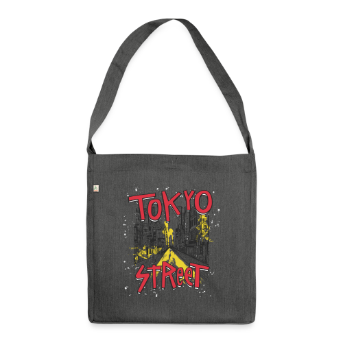 Travel To Tokyo 80s Retro Vintage - Shoulder Bag made from recycled material