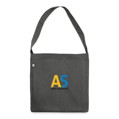 as logo - Borsa in materiale riciclato