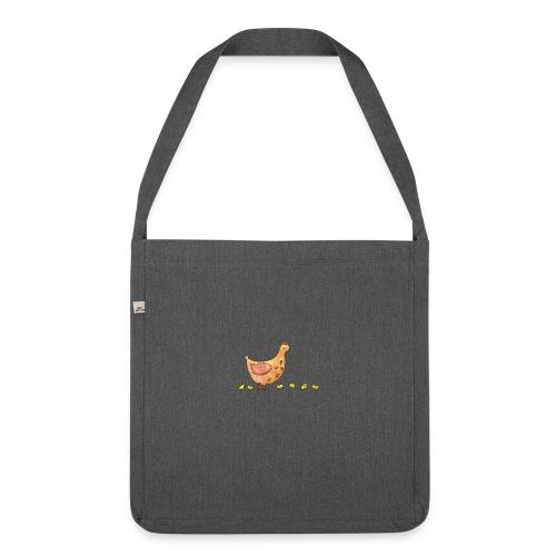 Mère poule - Sac bandoulière 100 % recyclé