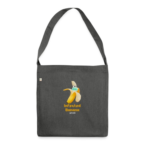Die Zock Stube - Infected Banana - Schultertasche aus Recycling-Material