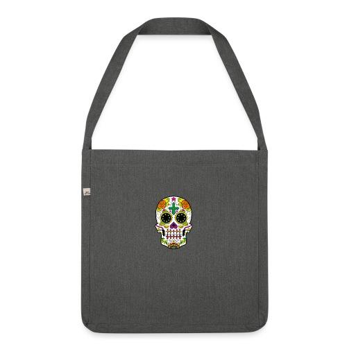 skull4 - Borsa in materiale riciclato