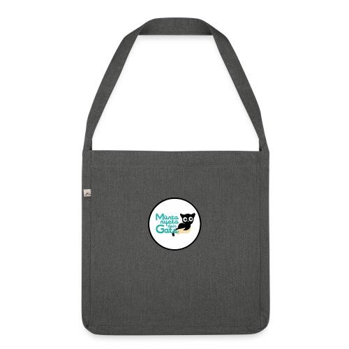 La Muntanyeta dels Gats Logo - Bandolera de material reciclado
