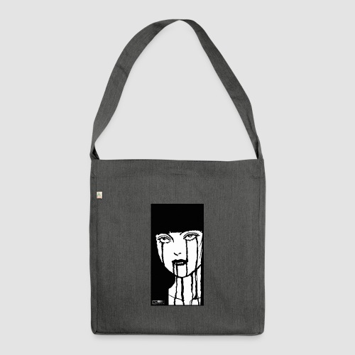 HORROR - Shoulder Bag made from recycled material