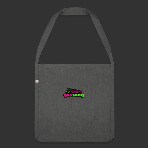 goosang logo - Schultertasche aus Recycling-Material