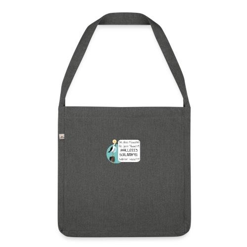 Moewe Stille der Nacht - Schultertasche aus Recycling-Material
