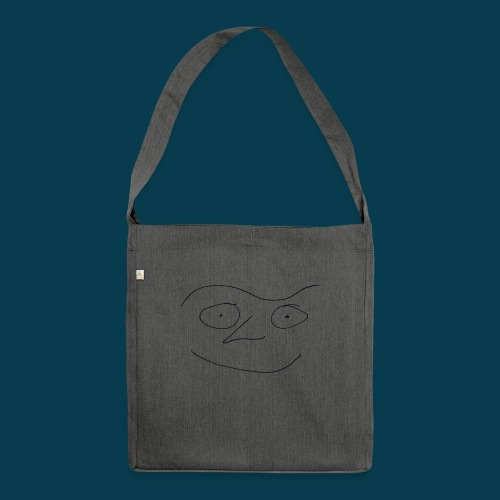 Chabisface Fast Happy - Schultertasche aus Recycling-Material