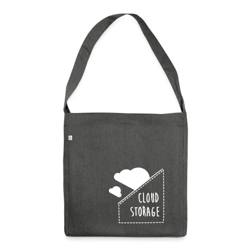 Cloud Storage - Schultertasche aus Recycling-Material