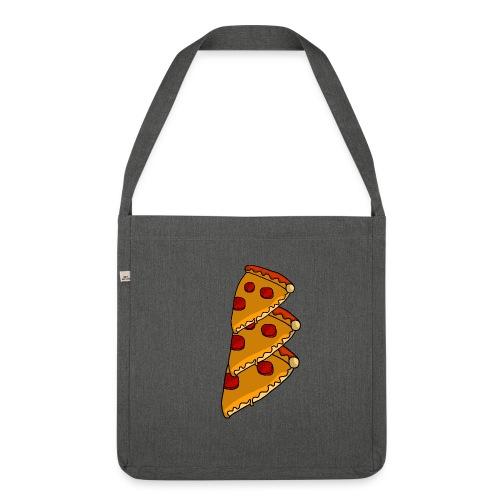 pizza - Skuldertaske af recycling-material