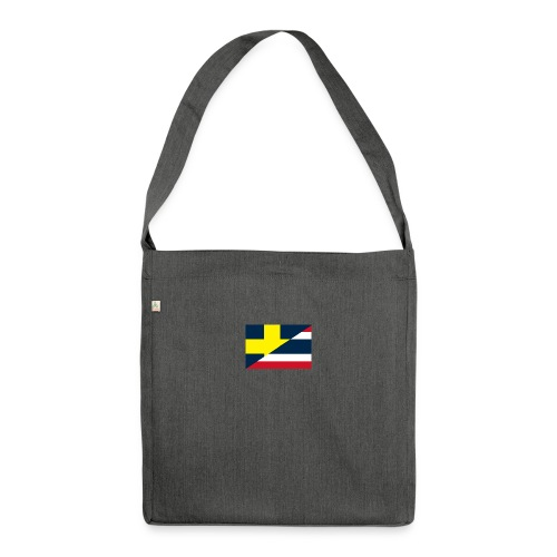 thailands flagga dddd png - Shoulder Bag made from recycled material