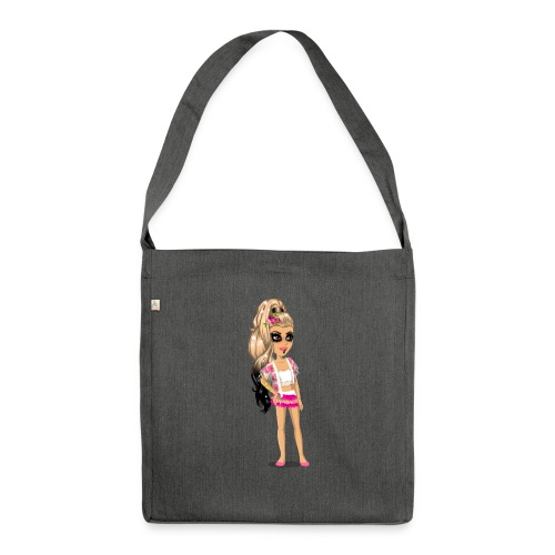 MSP_sommer_look - Schultertasche aus Recycling-Material