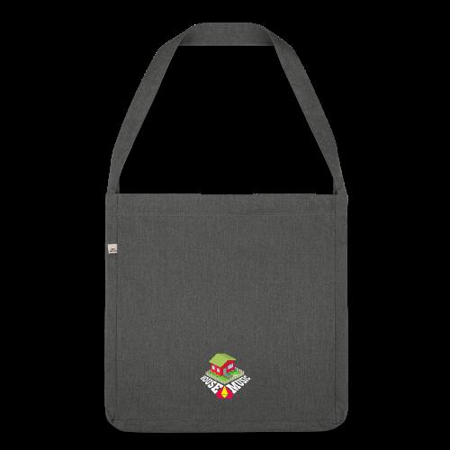Housemusic - Schultertasche aus Recycling-Material
