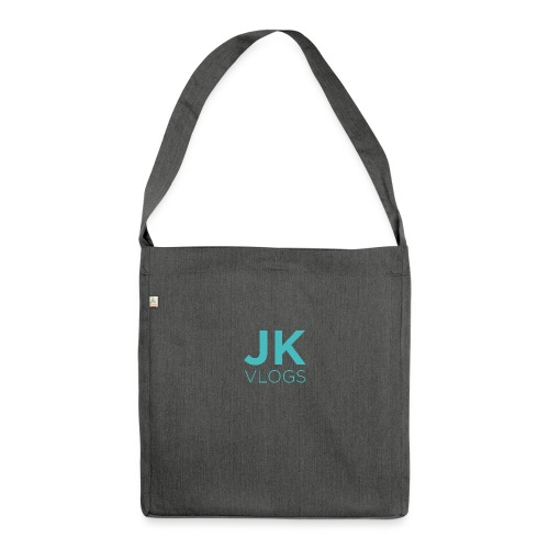 JK Vlogs Logo - Shoulder Bag made from recycled material