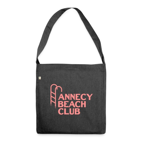 Annecy beach club - natation - Sac bandoulière 100 % recyclé