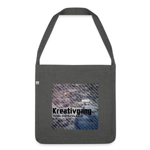 Kreativgang Logo - Schultertasche aus Recycling-Material