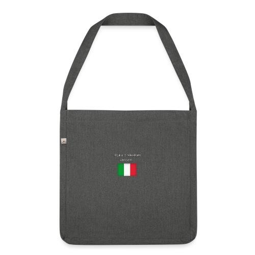 Włosko-polska - Torba na ramię z materiału recyklingowego