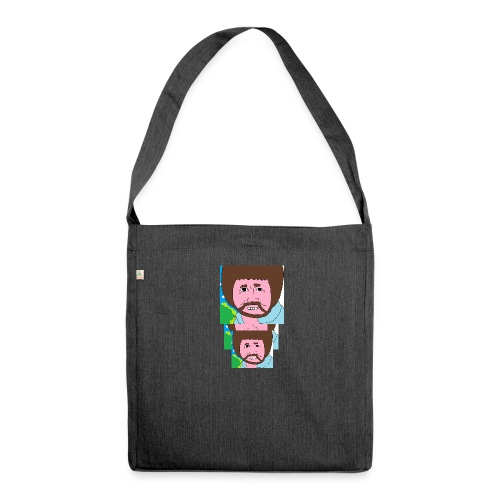 Bob Ross - Shoulder Bag made from recycled material