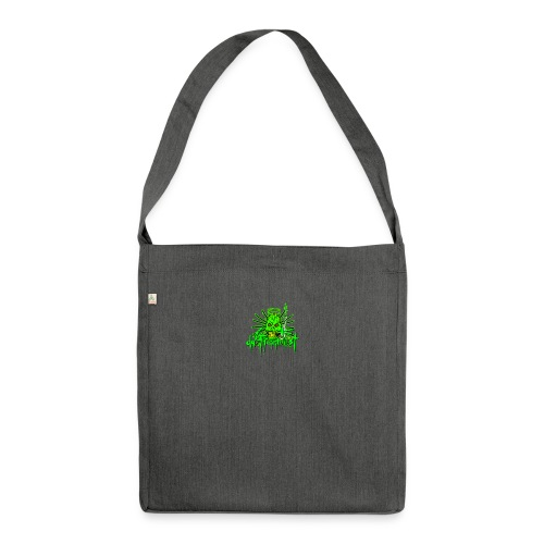 GFSkullOnlyColorShirt - Shoulder Bag made from recycled material