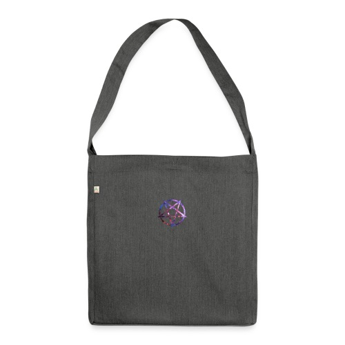 Cosmic Pentagramm - Shoulder Bag made from recycled material