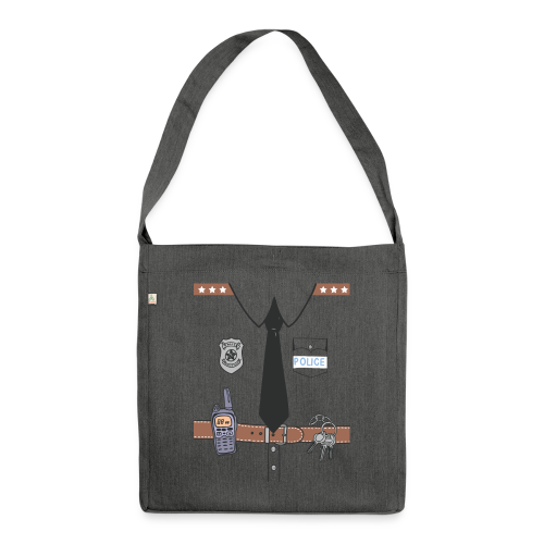 Funny Cute Uniform - Shoulder Bag made from recycled material