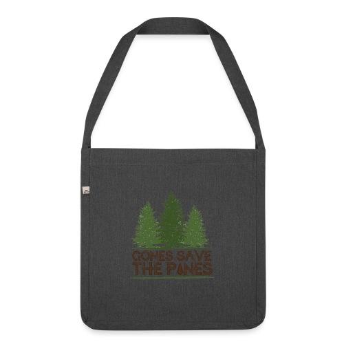Gones save the pines - Sac bandoulière 100 % recyclé