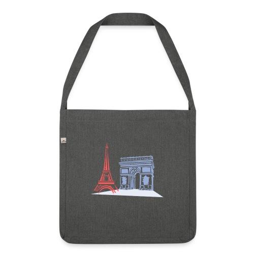 Paris - Sac bandoulière 100 % recyclé