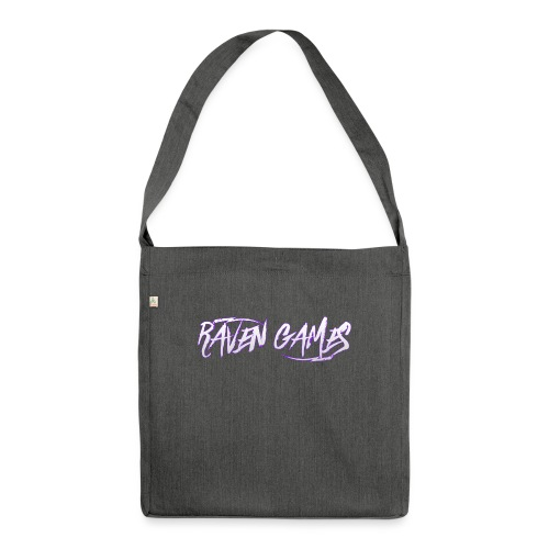 Raven Games Main Logo - Shoulder Bag made from recycled material