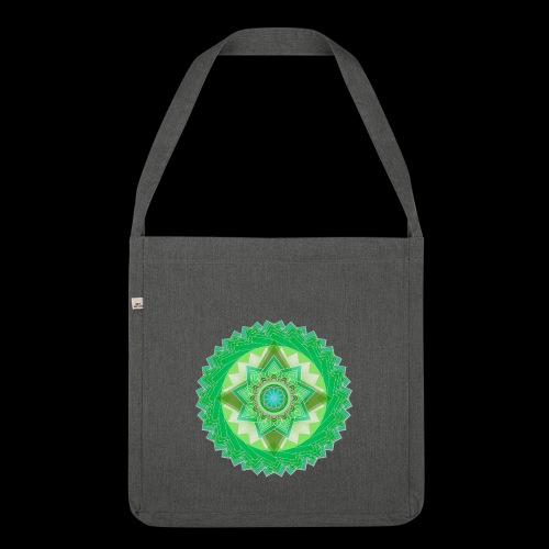 mandala 1 - Shoulder Bag made from recycled material