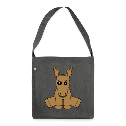 horse - Borsa in materiale riciclato