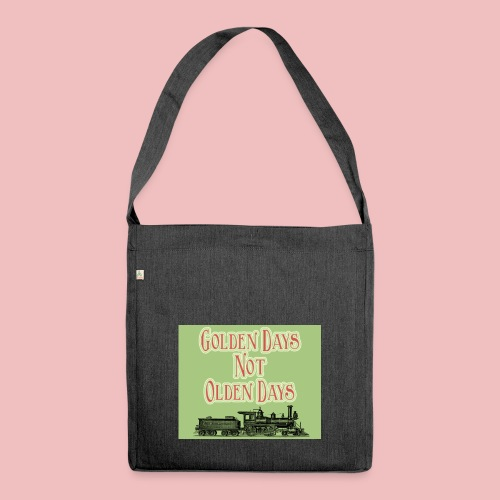 Golden Days - Shoulder Bag made from recycled material