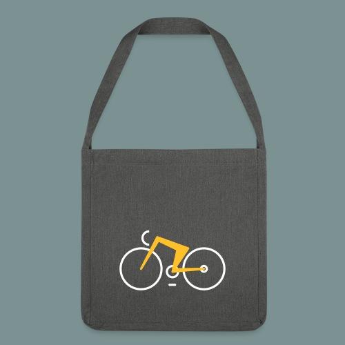Bikes against cancer - Skuldertaske af recycling-material