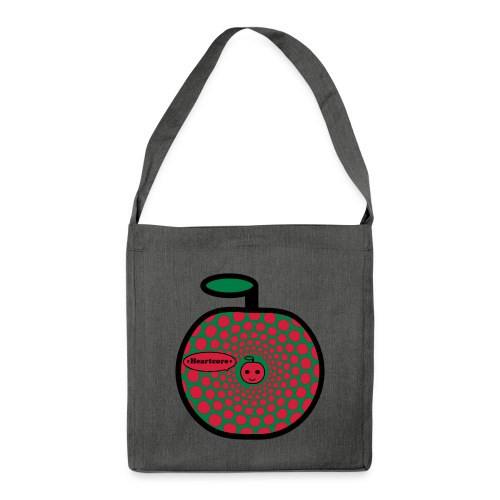 Heartcore - Schultertasche aus Recycling-Material