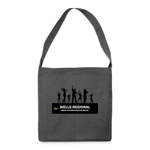 Welle-Regional PartyTime - Schultertasche aus Recycling-Material