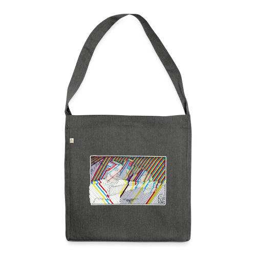 TWIST - Shoulder Bag made from recycled material