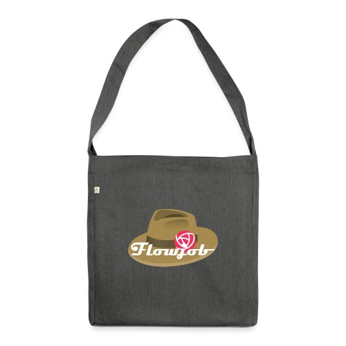 Flowjob Logo - Shoulder Bag made from recycled material