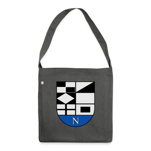 1200px Coat of arms of Neringa Lithuania svg - Schultertasche aus Recycling-Material